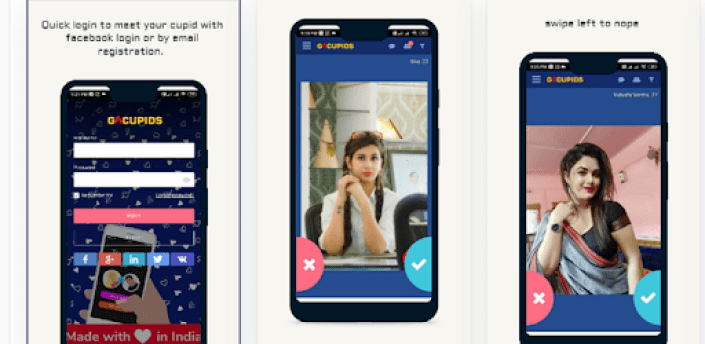 Go Cupid - free dating app meet love match to chat apk