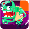 Zombie Tsunami Smasher Running Icon