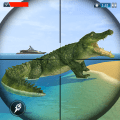 Crocodile Hunting: Wild Animal Shooting Games Icon