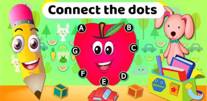 Dot to dot Game - Connect the dots ABC Kids Games apk