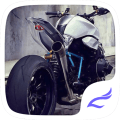 The Fast motorcycle. Theme for CM Launcher Icon