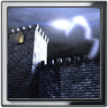 Stormy Castle Live Wallpaper Icon
