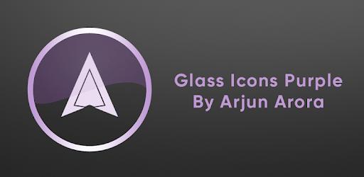 Glass Icons Purple apk