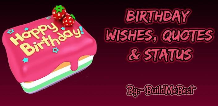 Happy Birthday Wishes, Quotes, Bday Greeting Cards apk