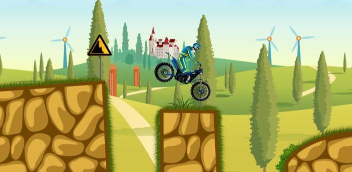 Moto Hero --endless motorcycle offroad racing game apk