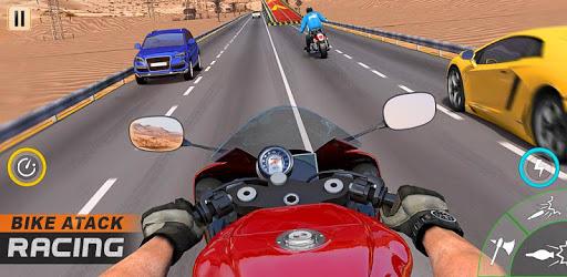 Moto Bike Attack Rider: Bike Racing Games 2019 apk