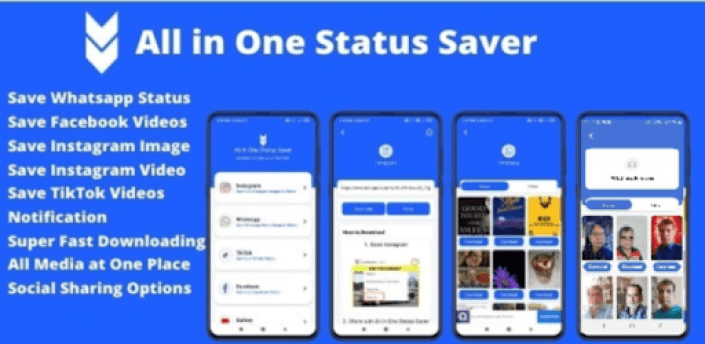 All In One Status Saver | Image & Video Downloader apk