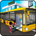 Timeless School Bus Driver Simulator Game 3D Icon