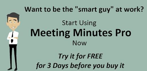 Meeting Minutes Trial apk