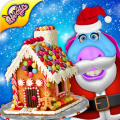 DIY Gingerbread House Cake Maker! Cooking Game Icon