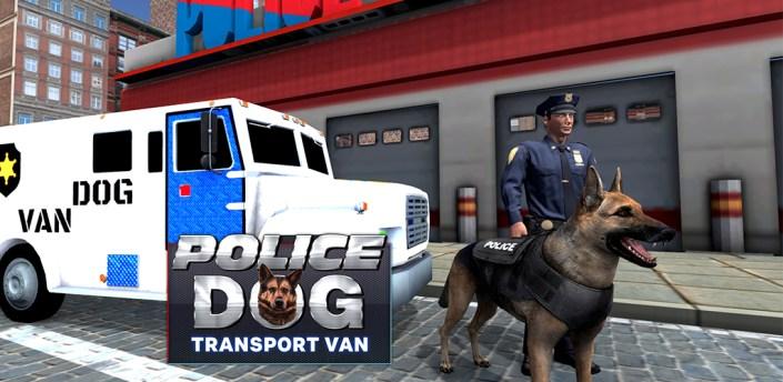 Police dogs van driver: Transport truck games apk