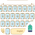 Light Footsteps Theme Keyboard Icon