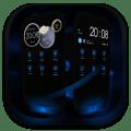 Next Launcher Theme MagicBlue Icon