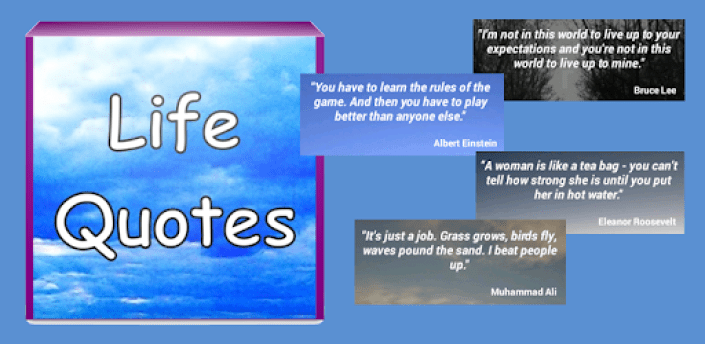 Life Quotes - famous thoughts apk