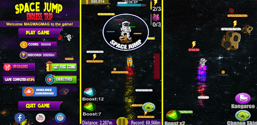 Space Jump: Endless Trip apk