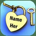 Name On Pics - Name Art Icon