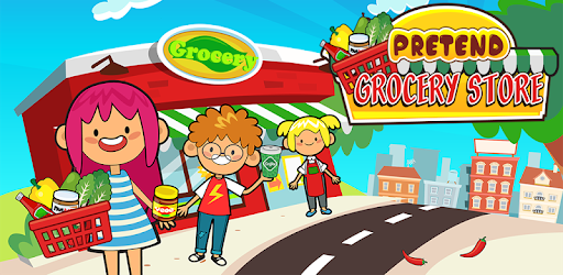 My Pretend Grocery Store - Supermarket Learning apk