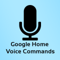 Commands for Google Home Icon