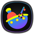 Mee Dark - Icon Pack Icon