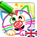 Coloring Games for kids 3 years & preschool games! Icon