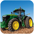 tractor Driving Hay Day Icon