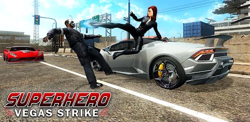 Superhero Vegas Strike-Superhero City Rescue Games apk