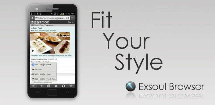 Exsoul Web Browser apk