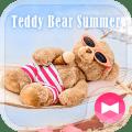 Cute Wallpaper Teddy Bear Summer Theme Icon