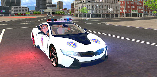 American i8 Police Car Game 3D apk
