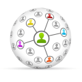 Social Network Marketing Icon