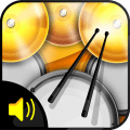 Real Simple Drums Icon