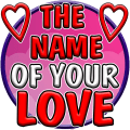 Test : Name of your Love Icon