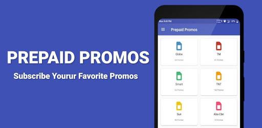 Prepaid Promos apk