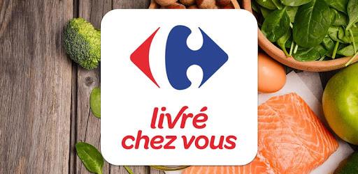 Carrefour Livré chez vous : livraison de courses apk