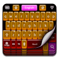 Keyboard Themes Neon Icon
