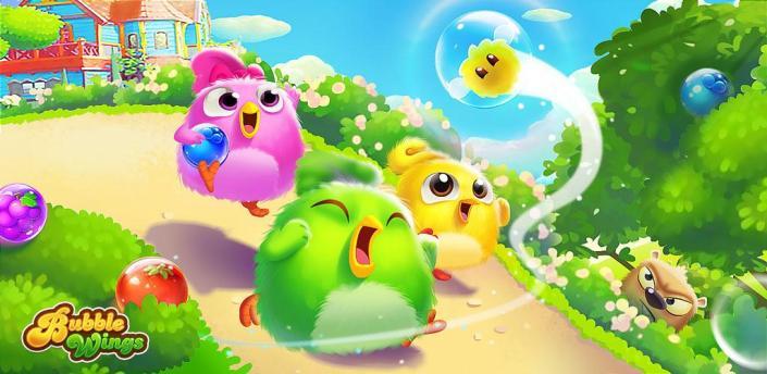 Bubble Wings: offline bubble shooter games apk