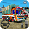 Indian Truck Driving Games : 3D Cargo Transporter Icon