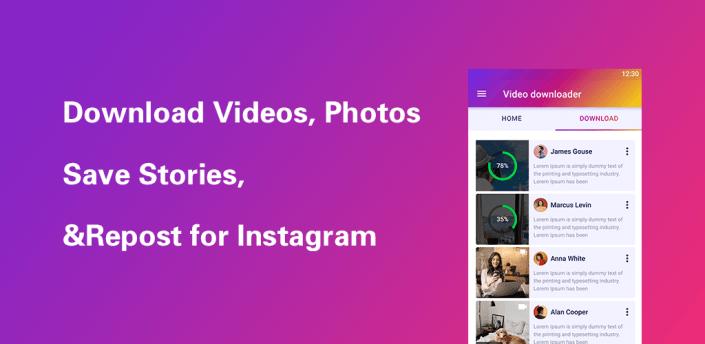 Photo & Video Downloader for Instagram #Repost IG apk