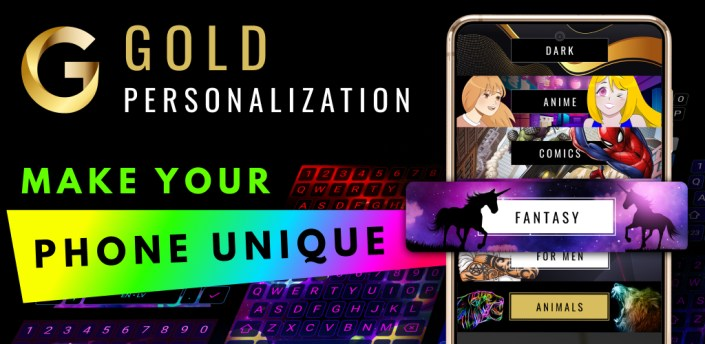 Gold Personalisation apk