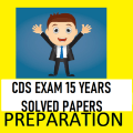 CDS Exam 15 Years Solved Previous Papers Icon