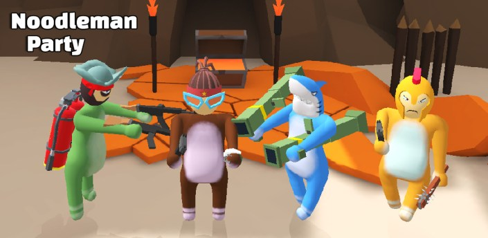 Noodleman Party: Fun Free Fight Games apk