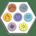 Elementality: Elements Puzzle Icon