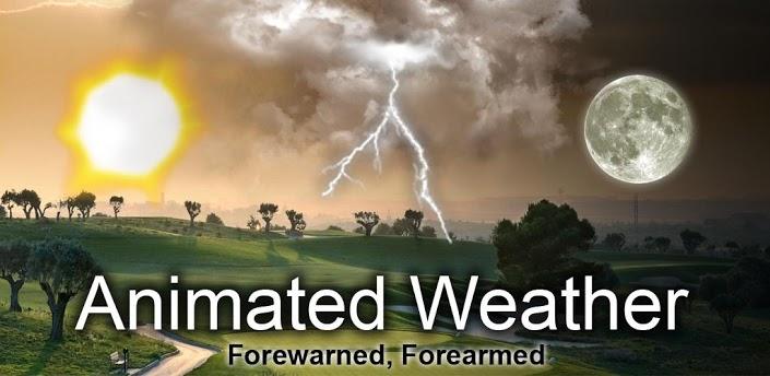 Animated Weather Widget&Clock apk