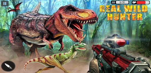 Real Wild Animal Hunting Games: Dino Hunting Games apk
