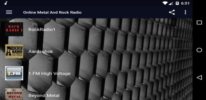 Online Metal And Rock Radio apk
