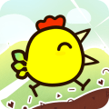 Chicken Run - Happy Chicken Jump Jump Jump Icon