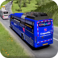 Highway Bus Driving Simulator : Bus Games Free Icon
