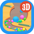 Dig Sand Stack - Road Ball Icon