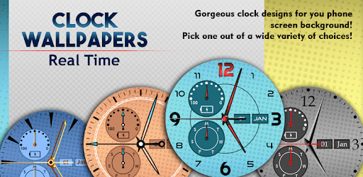 Clock Backgrounds Real Time apk