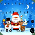 Christmas keyboard : Merry christmas Icon
